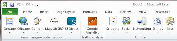 SEO Tools для Excel