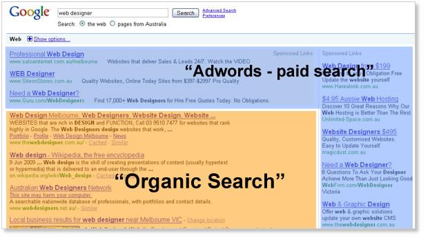 Органическая поисковая выдача