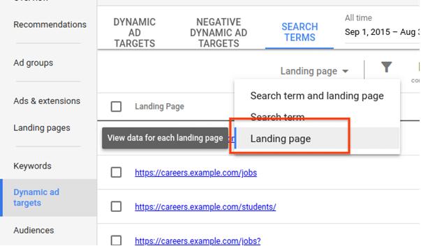 Google став показувати ефект динамічних оголошень