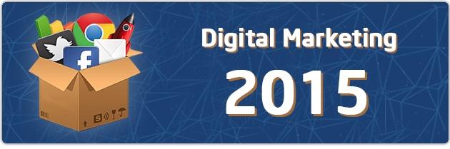 Передбачення майбутнього цифрового маркетингу в 2015 році. інфографіка - Фото 1
